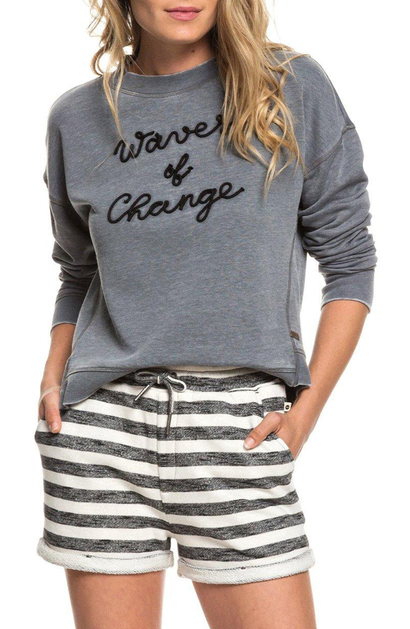 Journey Home Sweatshirt, Main, color, TURBULENCE