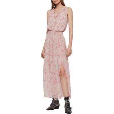 Allsaints Nylah Rosa Maxi Dress, Pink