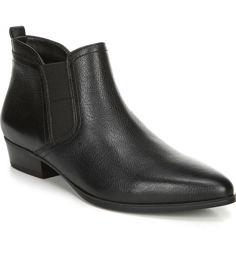 NATURALIZER Becka Bootie, Main, color, BLACK LEATHER
