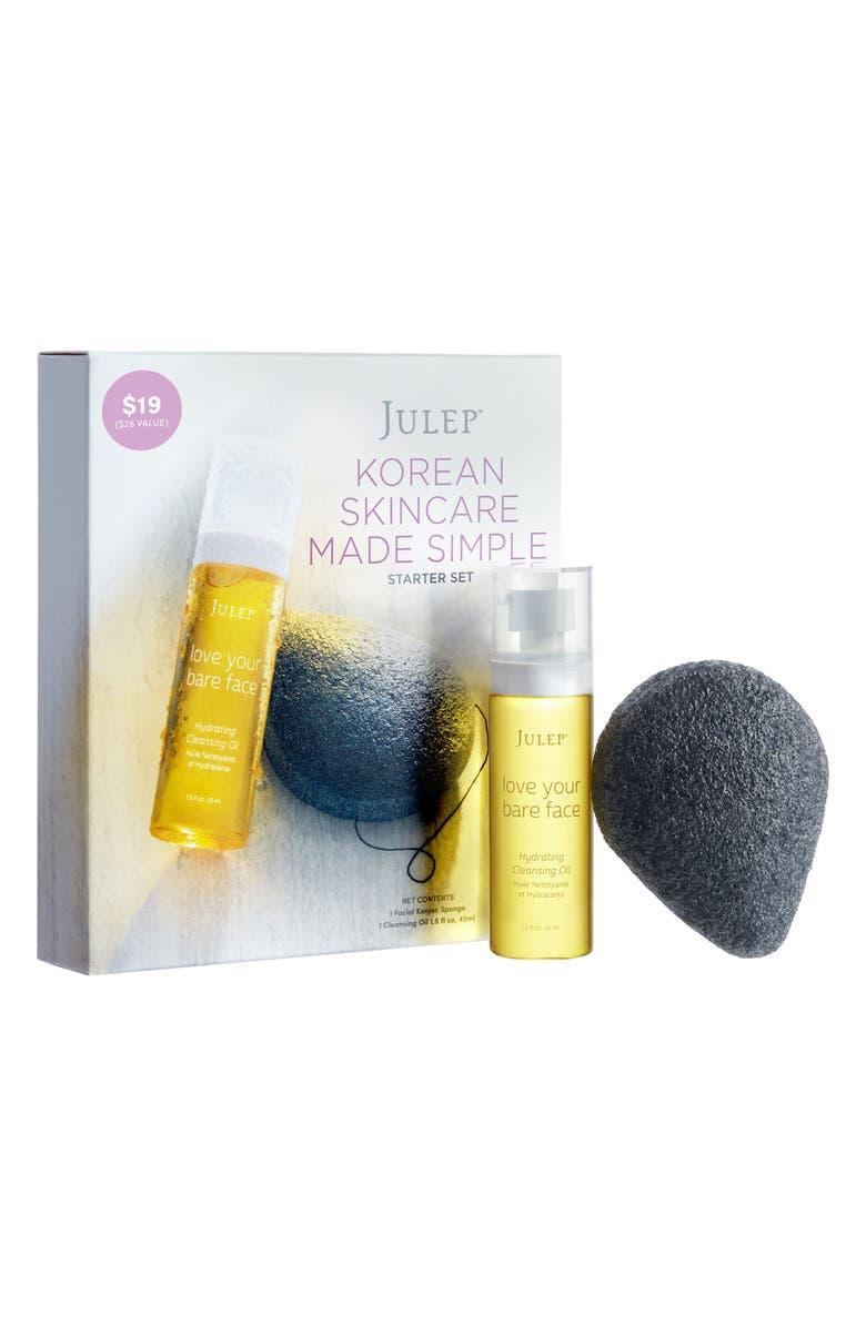 JULEP BEAUTY Julep<sup>™</sup> 'Korean Skincare Made Simple' Starter Set, Main, color, 000