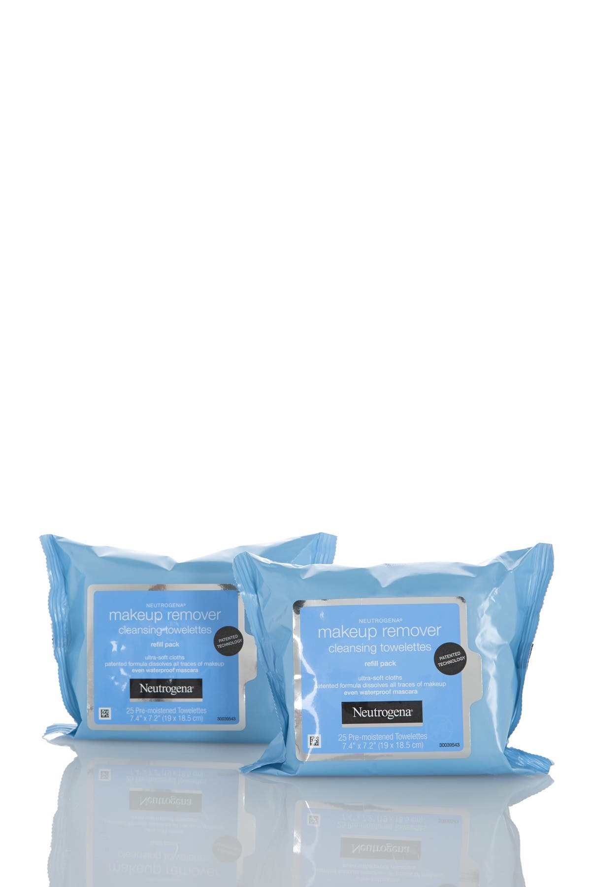 Image of Neutrogena Makeup Remover Cleansing Towelettes - Pack of 2