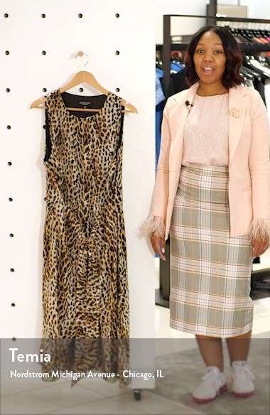 Sleeveless Tie Waist Dress, sales video thumbnail