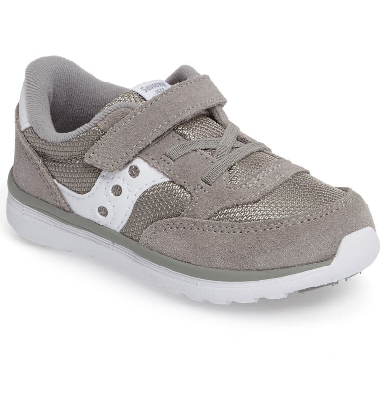 SAUCONY Jazz Lite Sneaker, Main, color, GREY/ WHITE