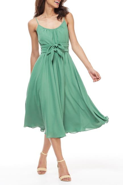 Image of Gal Meets Glam Double Waist Tie Dress