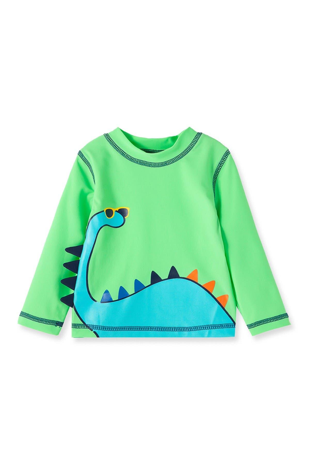 Image of Little Me Dino Long Sleeve Rashguard