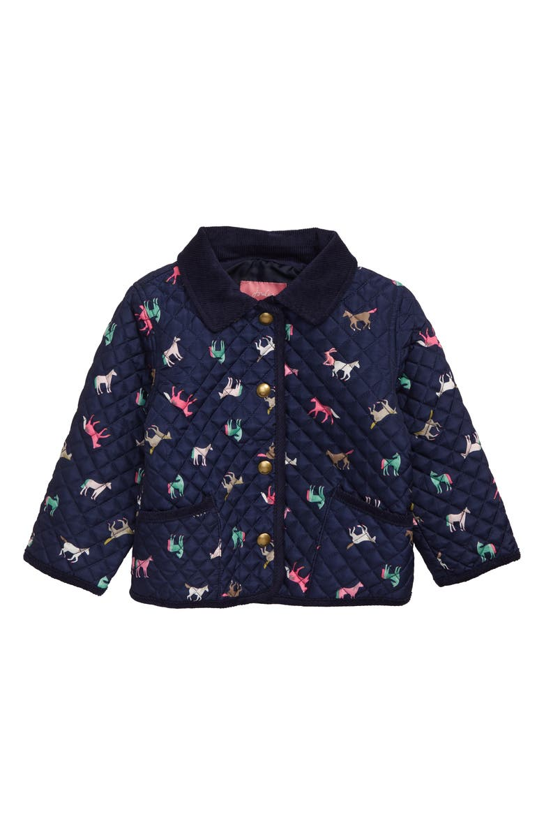 JOULES Mabel Quilted Barn Jacket, Main, color, 018