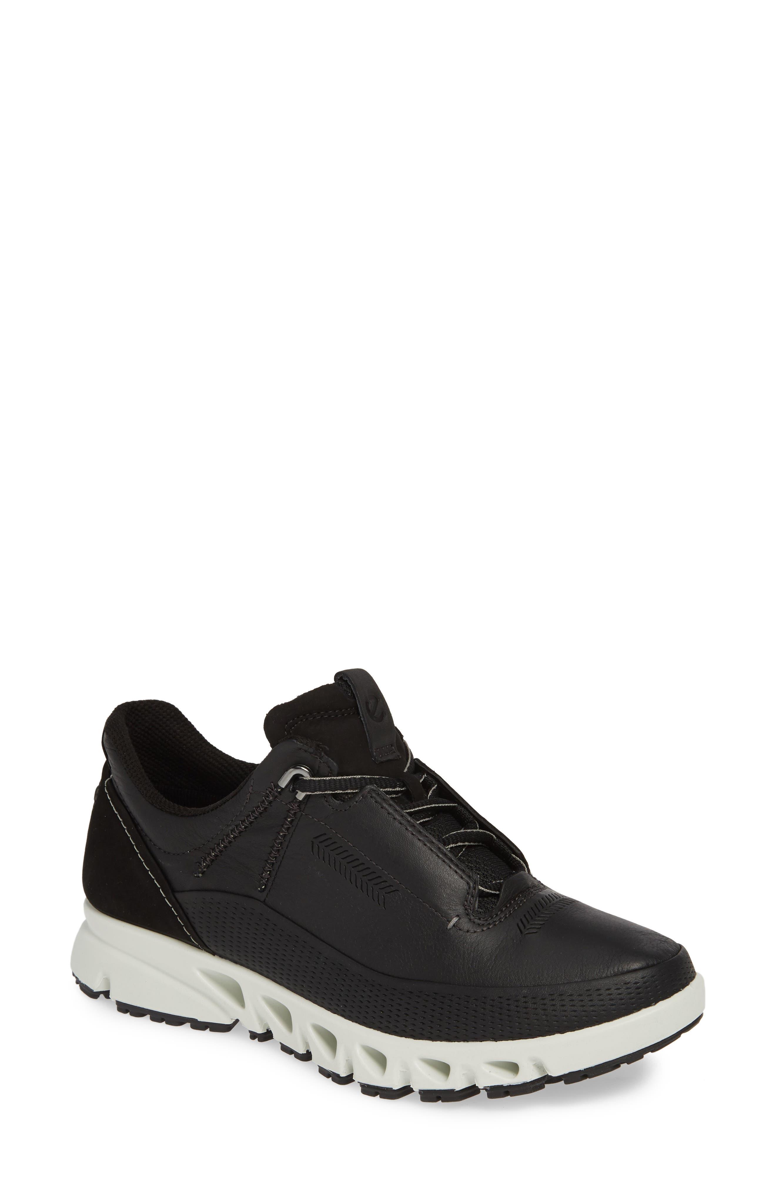 Ecco Omni-Vent Gore-Tex Waterproof Sneaker, Black