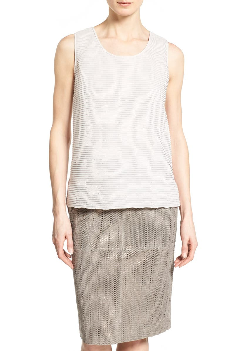 LAFAYETTE 148 NEW YORK 'Cleo' Texture Front Shell, Main, color, 252