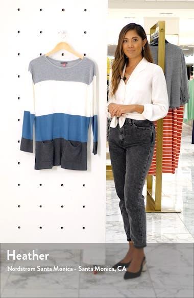 Colorblock Pocket Sweater, sales video thumbnail