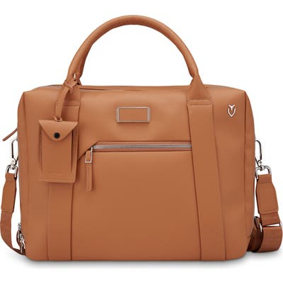 Vessel Signature 2.0 Faux Leather Briefcase - Brown