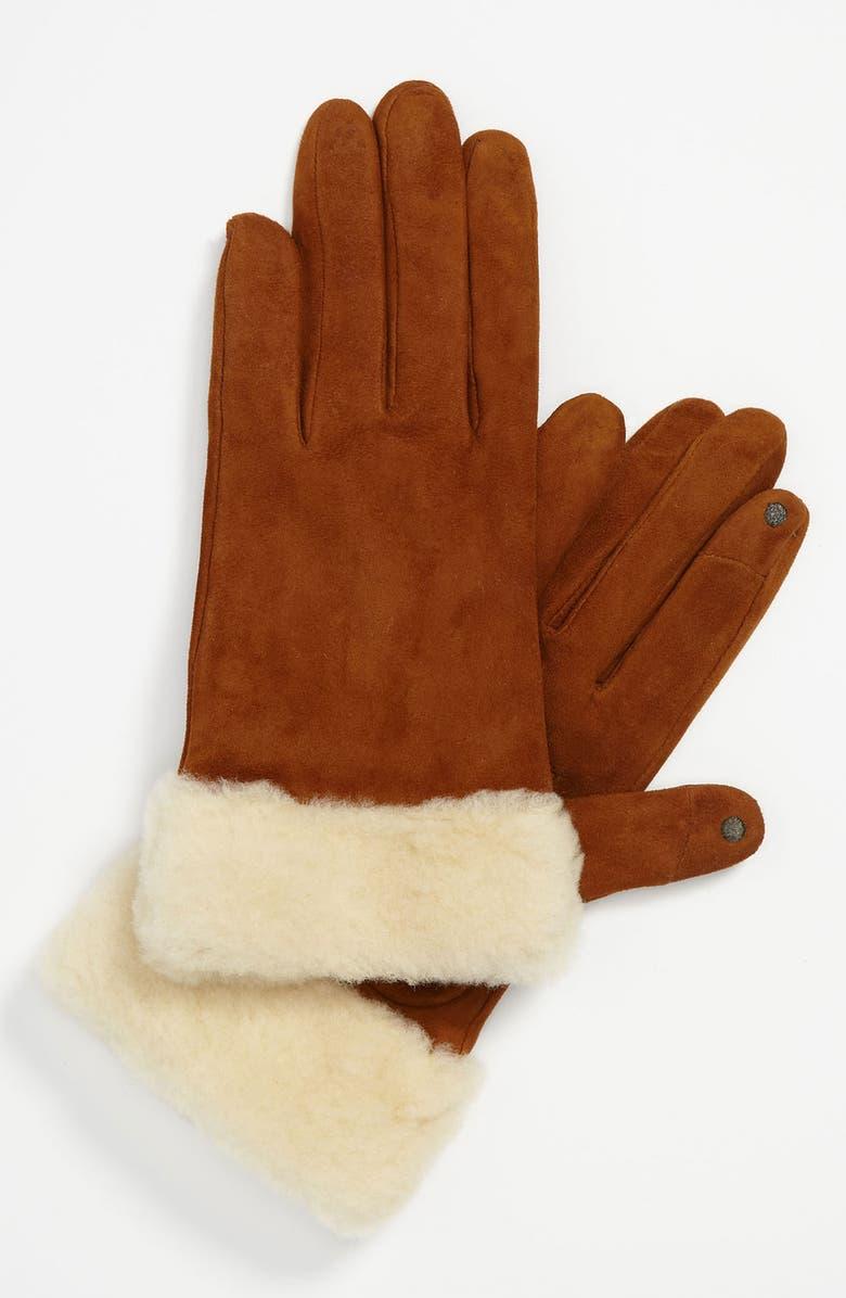 UGG<SUP>®</SUP> Australia 'Kotah Shorty' Tech Gloves, Main, color, 201