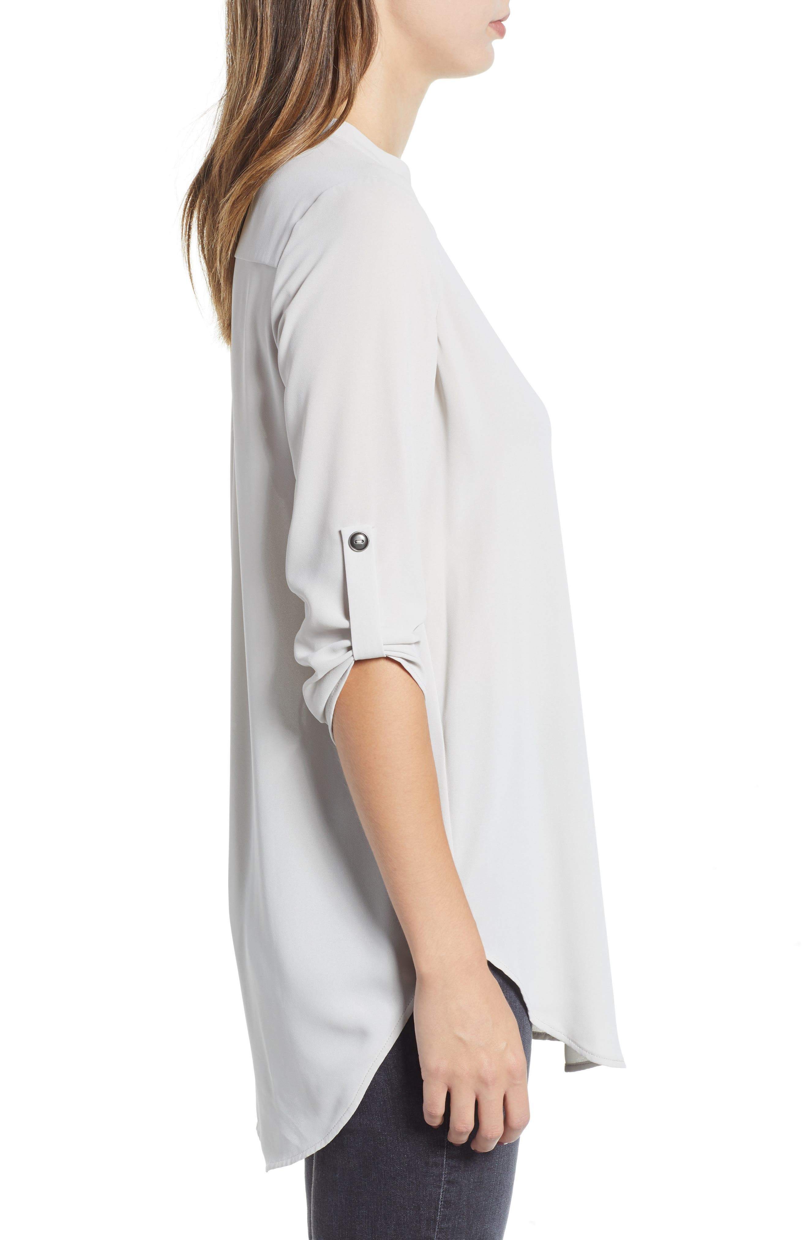 ,                             Perfect Roll Tab Sleeve Tunic,                             Alternate thumbnail 31, color,                             032
