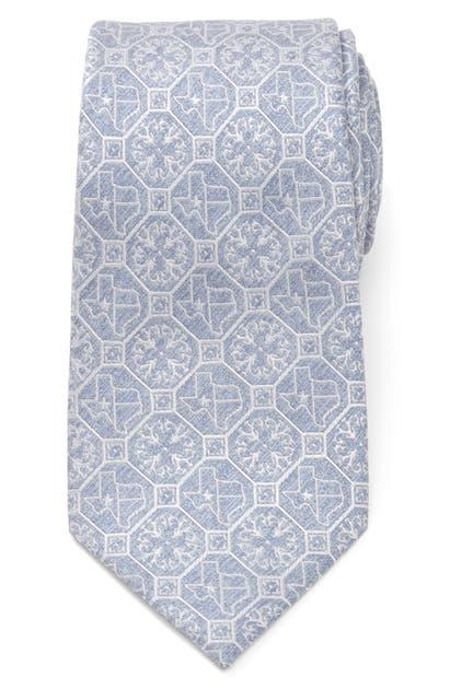 Cufflinks, Inc Texas State Denim Tie In Blue