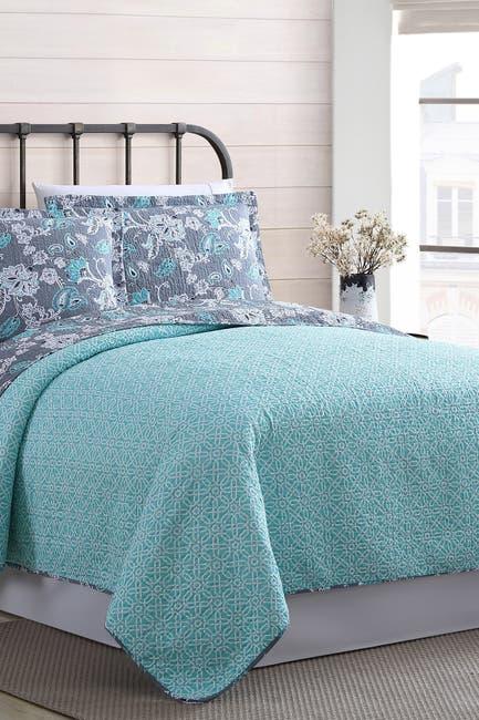 Image of Modern Threads King Agnes Reversible Quilt Set - Agnes