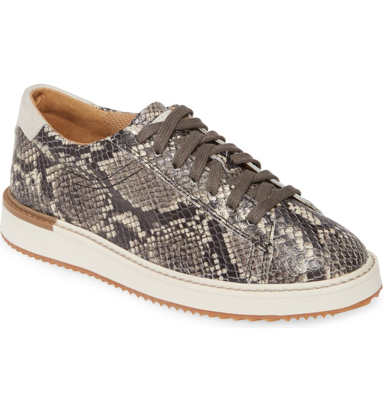 HUSH PUPPIES<SUP>®</SUP> Sabine Sneaker, Main, color, NATURAL SNAKE PRINT LEATHER