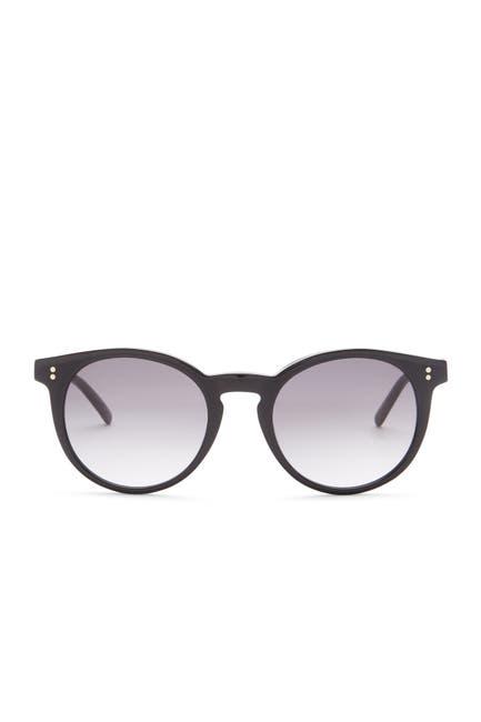 Image of Bobbi Brown Cabel 50mm Round Sunglasses