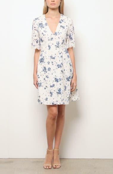 Print Lace A-Line Dress, video thumbnail