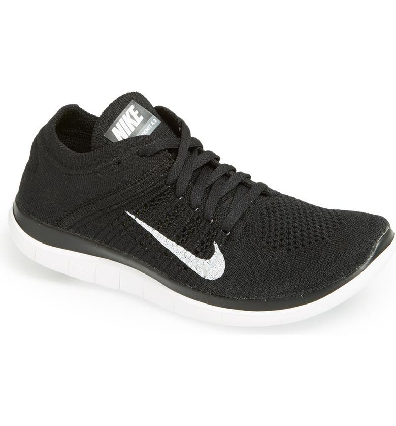 Indirecto Pesimista Implacable  Nike 'Free 4.0 Flyknit' Running Shoe (Women) | Nordstrom