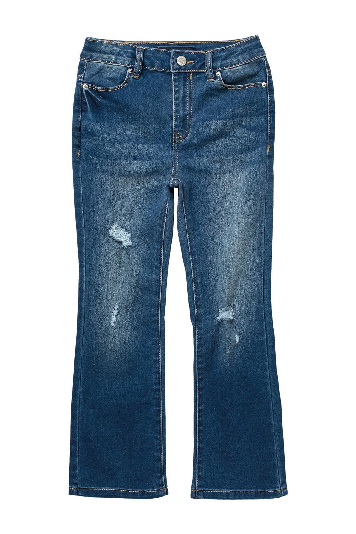 Image of Calvin Klein High Rise Flare Jeans