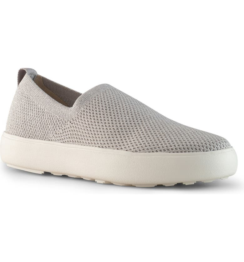 COUGAR Hint Slip-On Sneaker, Main, color, SILVER KNIT