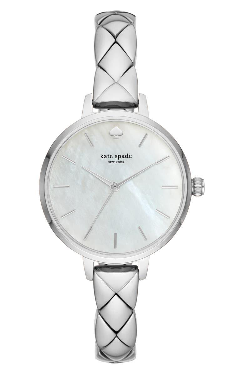 KATE SPADE NEW YORK metro bracelet watch, 34mm, Main, color, 040