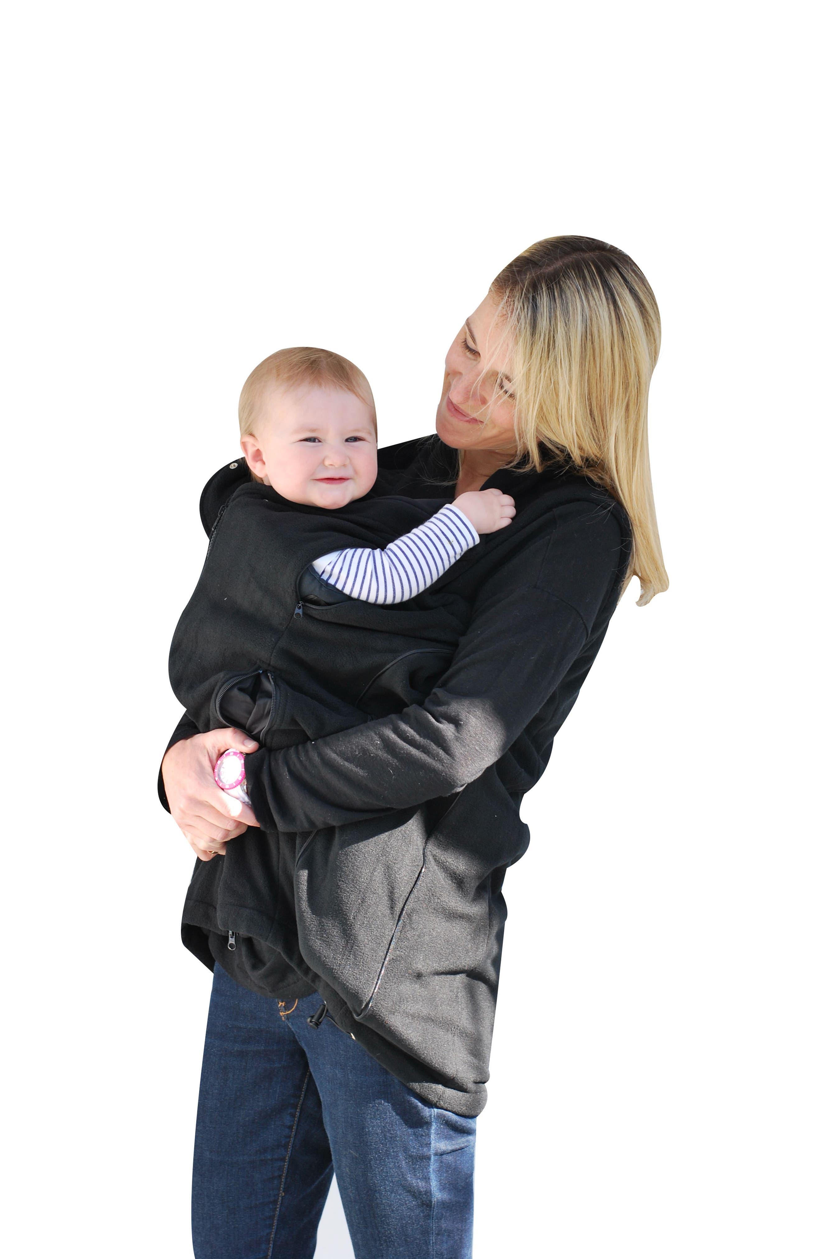 ,                             Booker Maternity Vest,                             Alternate thumbnail 8, color,                             BLACK