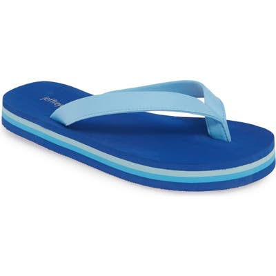 Jeffrey Campbell Surf Flip Flop, Blue