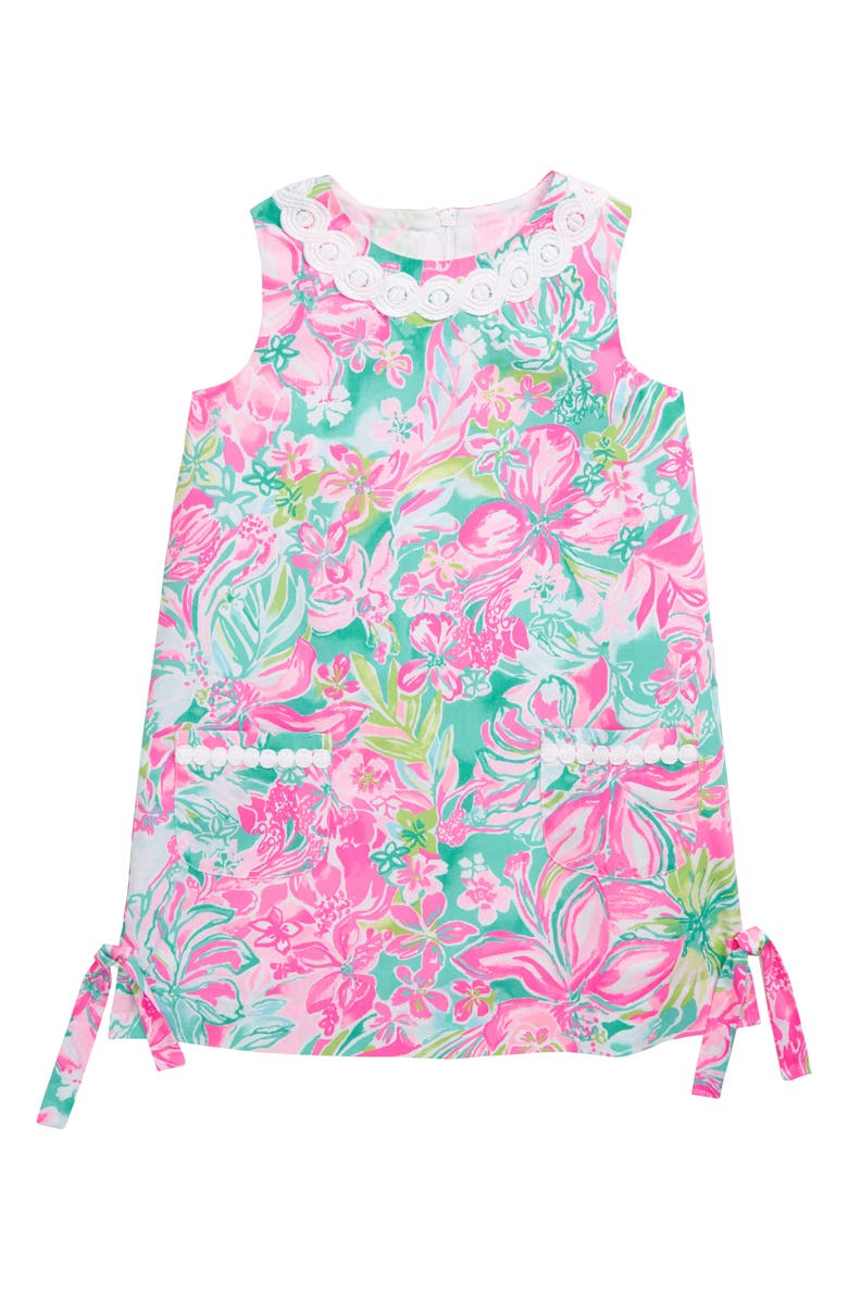 LILLY PULITZER<SUP>®</SUP> Little Lilly Shift Dress, Main, color, 650