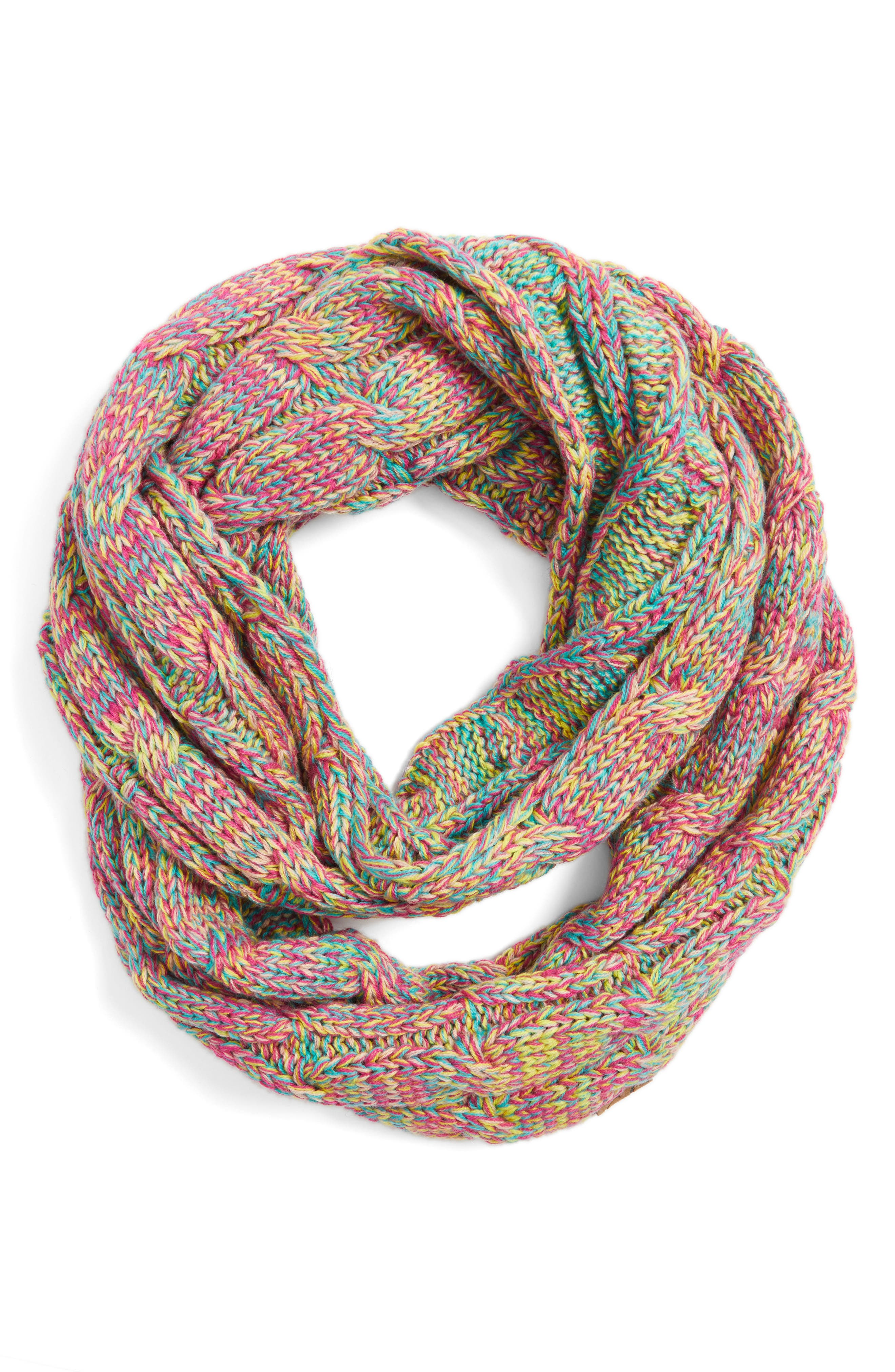 ,                             CC Knit Infinity Scarf,                             Alternate thumbnail 17, color,                             700