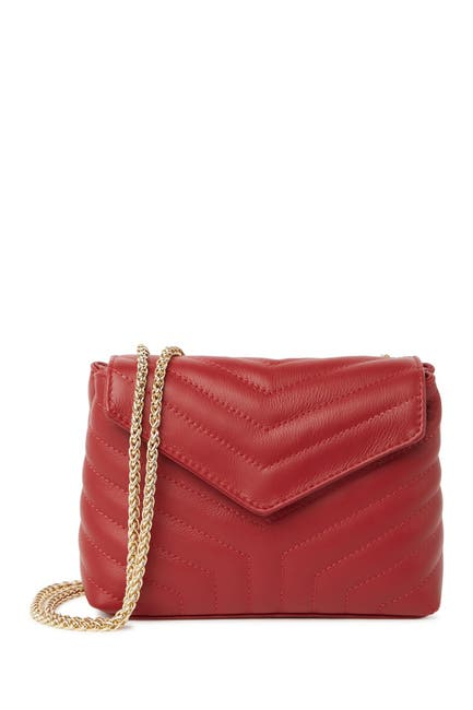 Image of Persaman New York Celeste Quilted Envelope Shoulder Bag