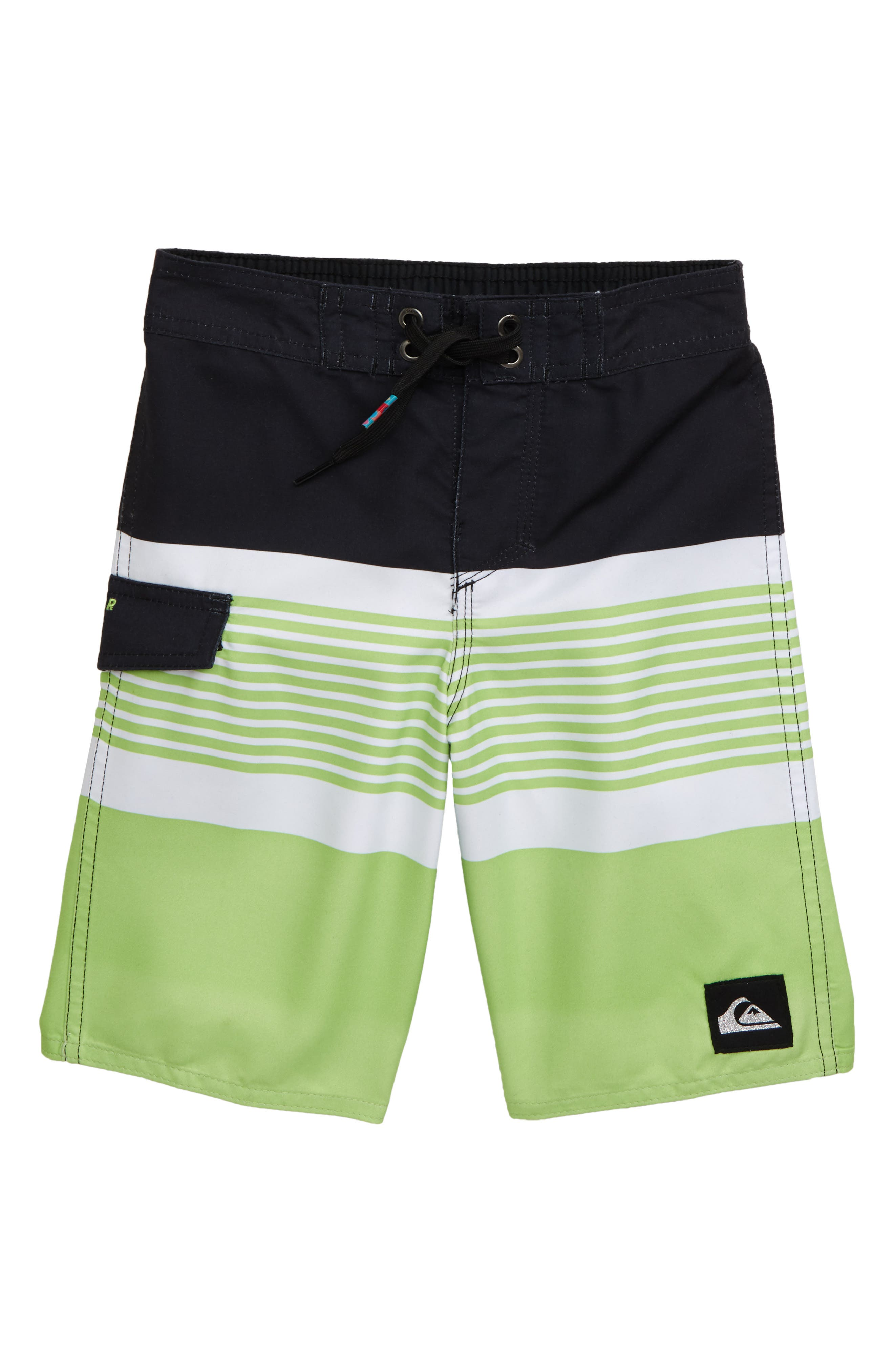 Toddler Boys Quiksilver Division Board Shorts Size 2T  Black