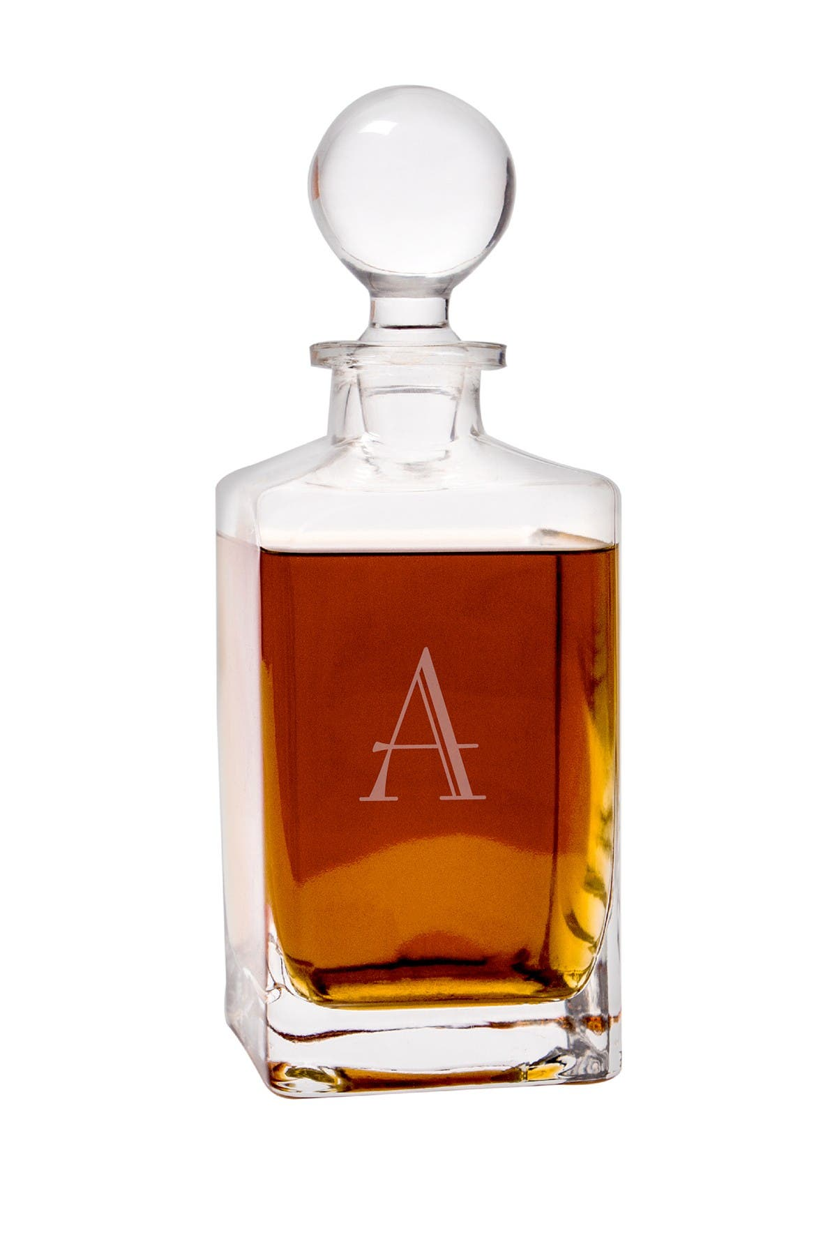 Image of Cathy's Concepts Square 32oz. Whiskey Decanter