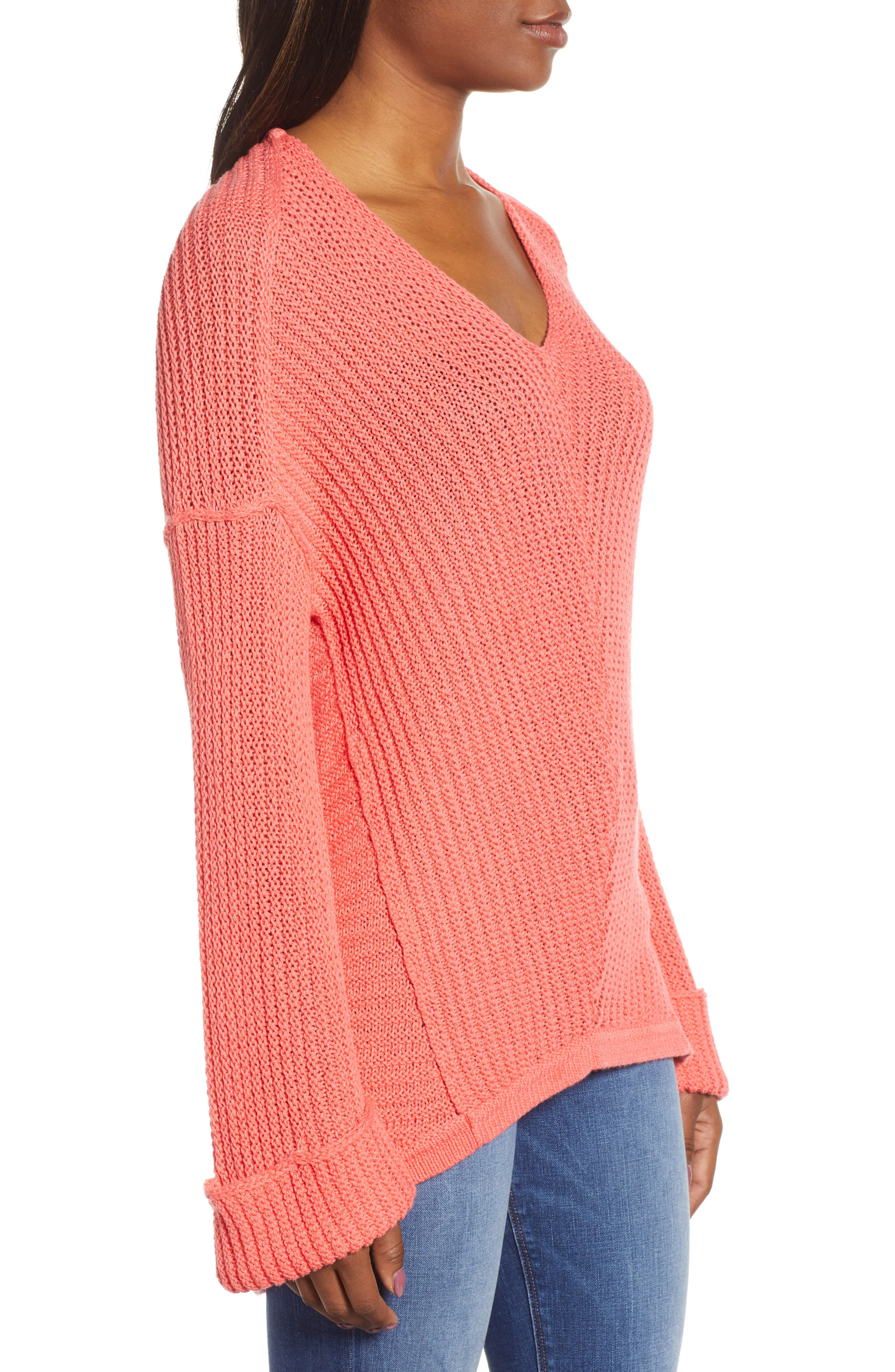 ,                             Cuffed Sleeve Sweater,                             Alternate thumbnail 51, color,                             958