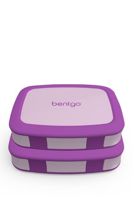 Image of BENTGO 2-Pack of Children's Lunch Box - Purple