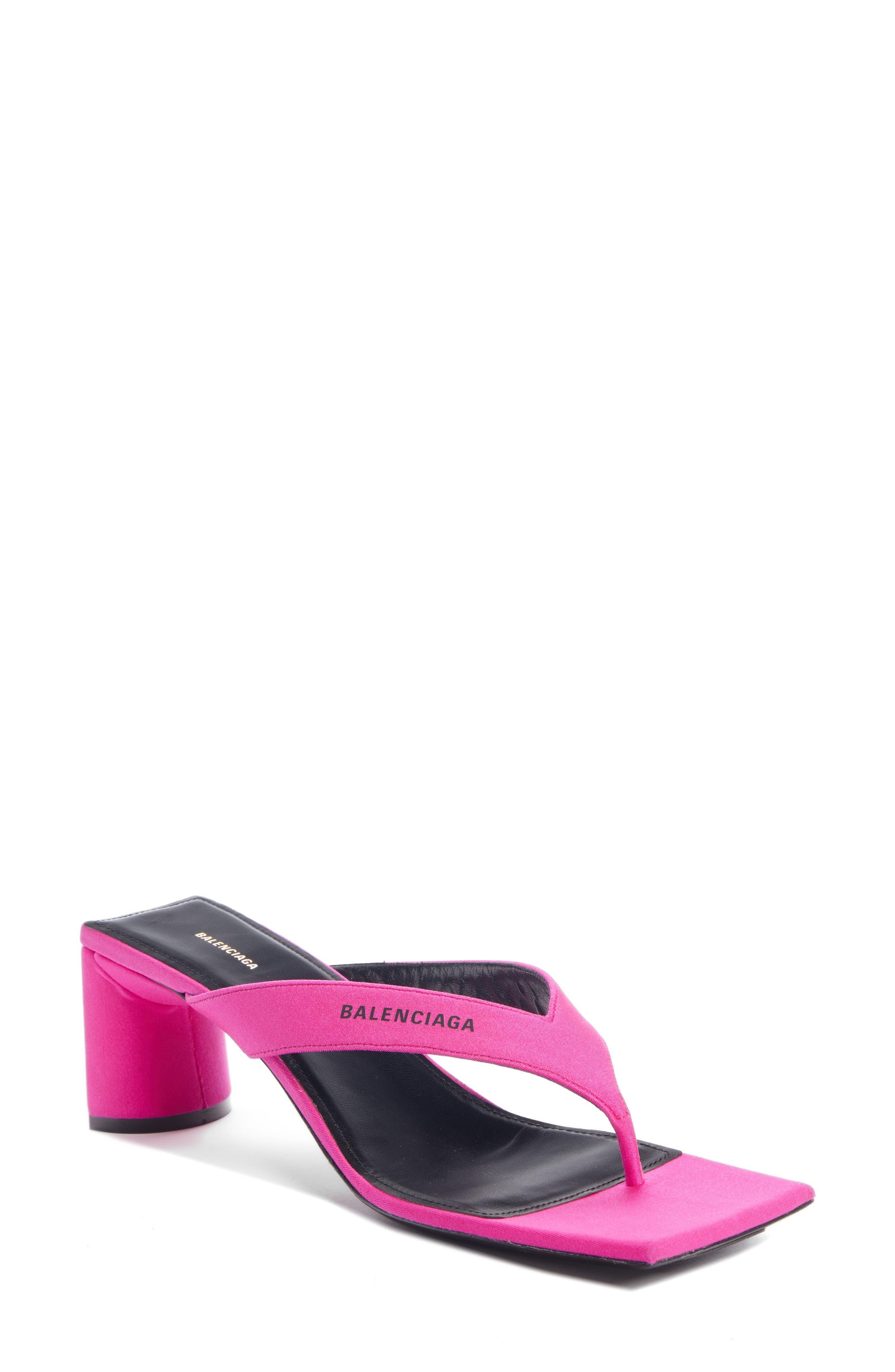 Balenciaga Square Toe Sandal (Women