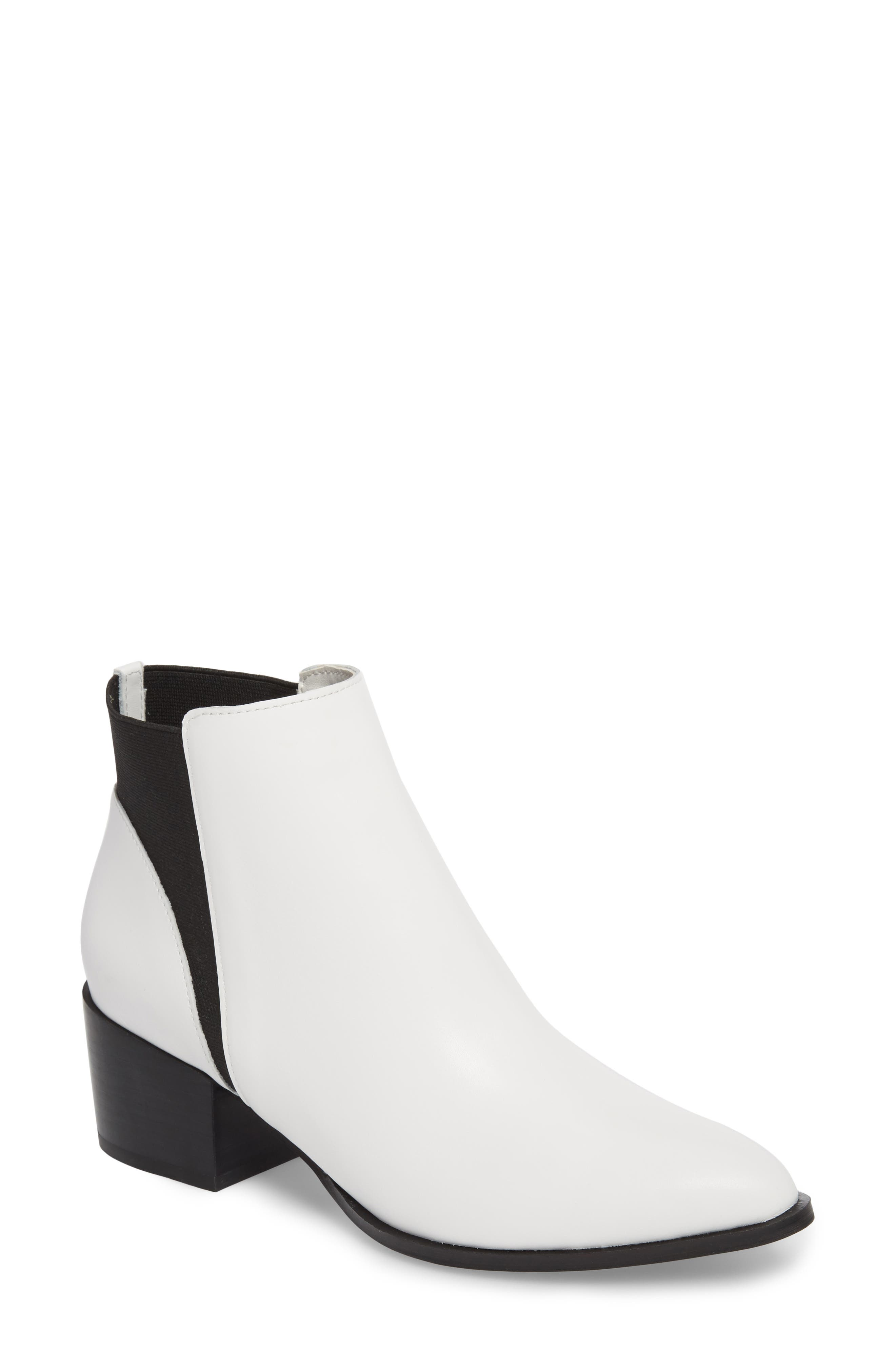 Chinese Laundry Finn Bootie- White