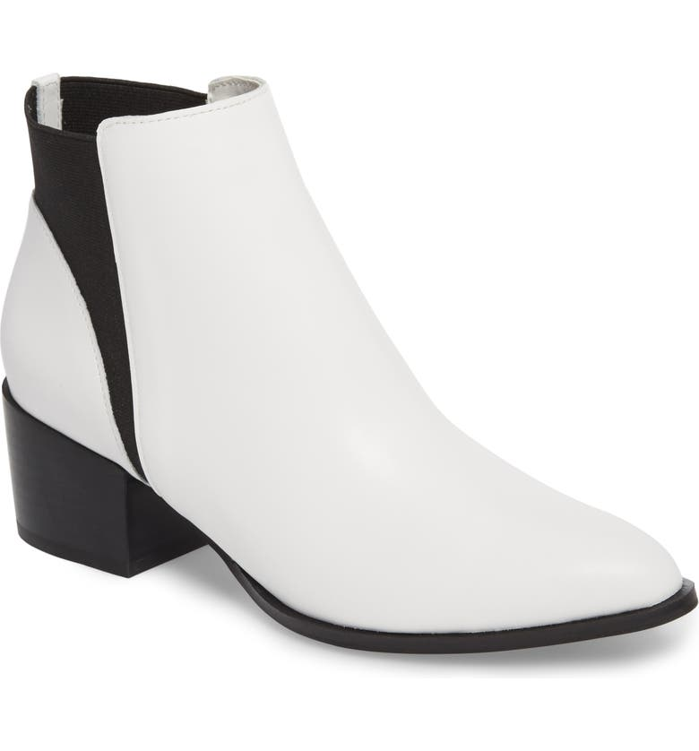 CHINESE LAUNDRY Finn Bootie, Main, color, WHITE LEATHER