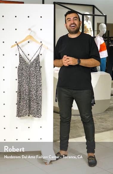 Now or Now Cherry Print Tank Minidress, sales video thumbnail