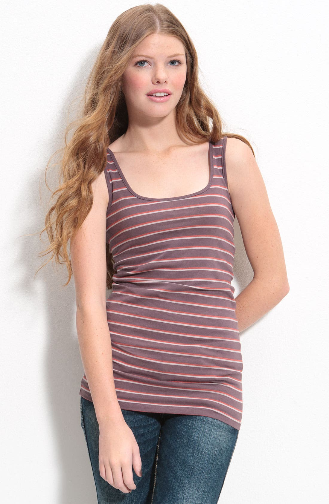,                             Double Scoop Neck Tank,                             Main thumbnail 66, color,                             039