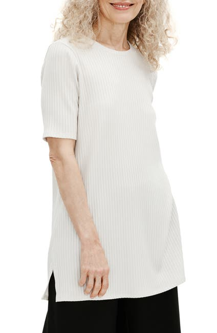 Image of Eileen Fisher Ribbed Tunic