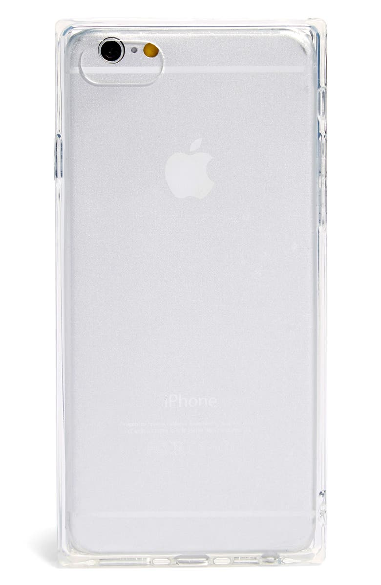 RECOVER Squared Clear iPhone 7/8 & 7/8 Plus Case, Main, color, CLEAR