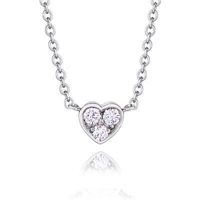 Kwiat Heart Pendant Necklace