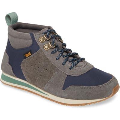 Teva Highside 84 Mid Top Sneaker- Grey