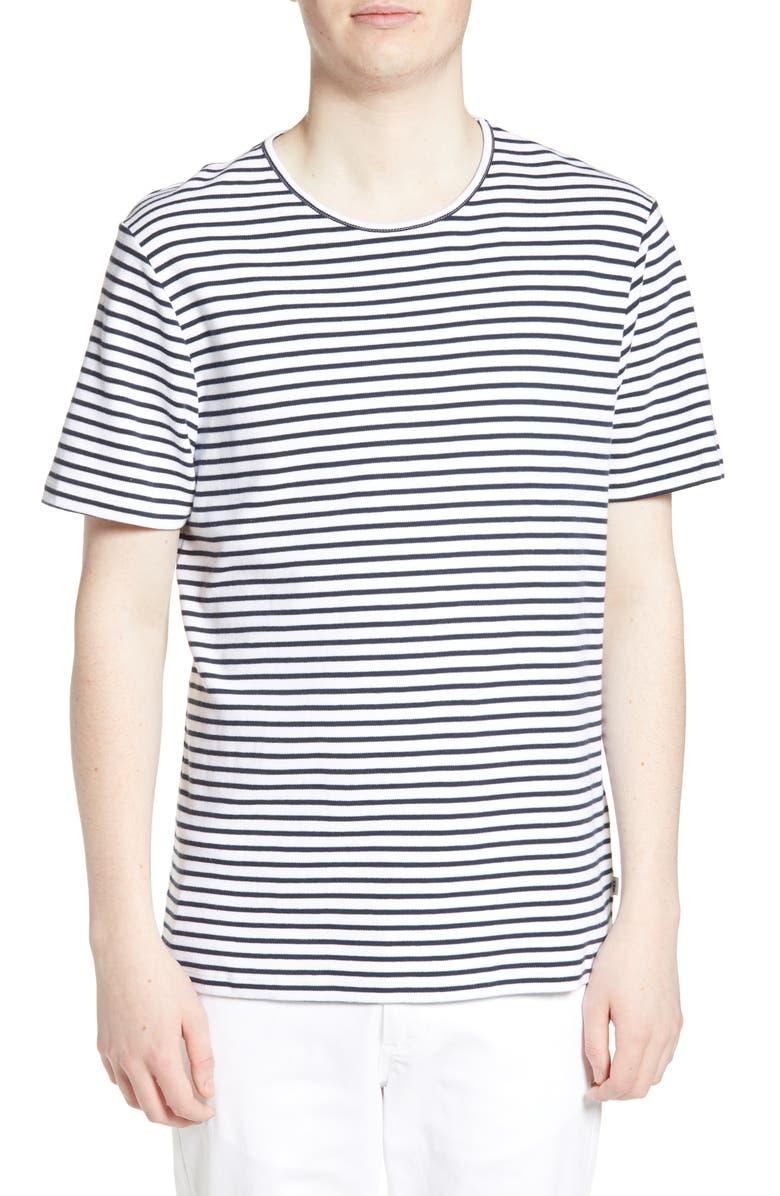 WAX LONDON Duval Stripe T-Shirt, Main, color, 100