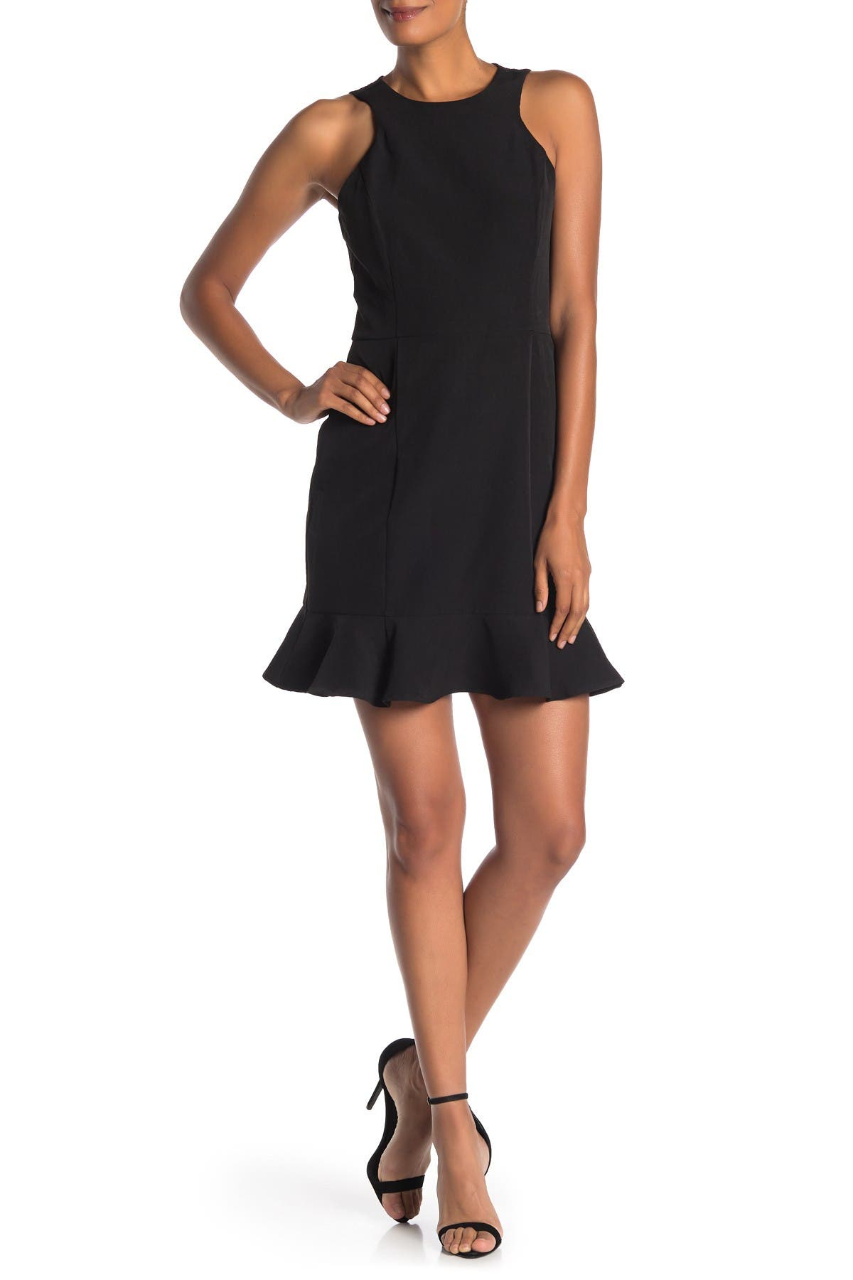 Image of 19 Cooper Lace Back Flounce Dress