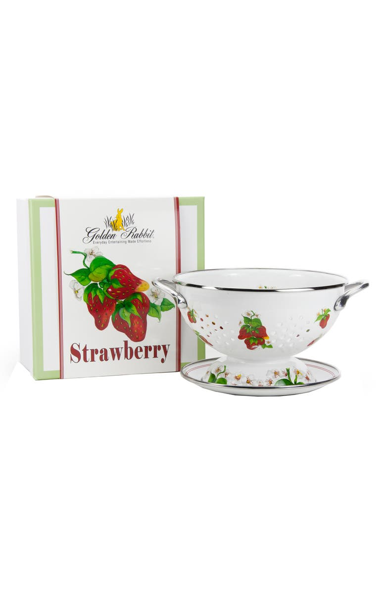 GOLDEN RABBIT Garden Colander, Main, color, STRAWBERRY