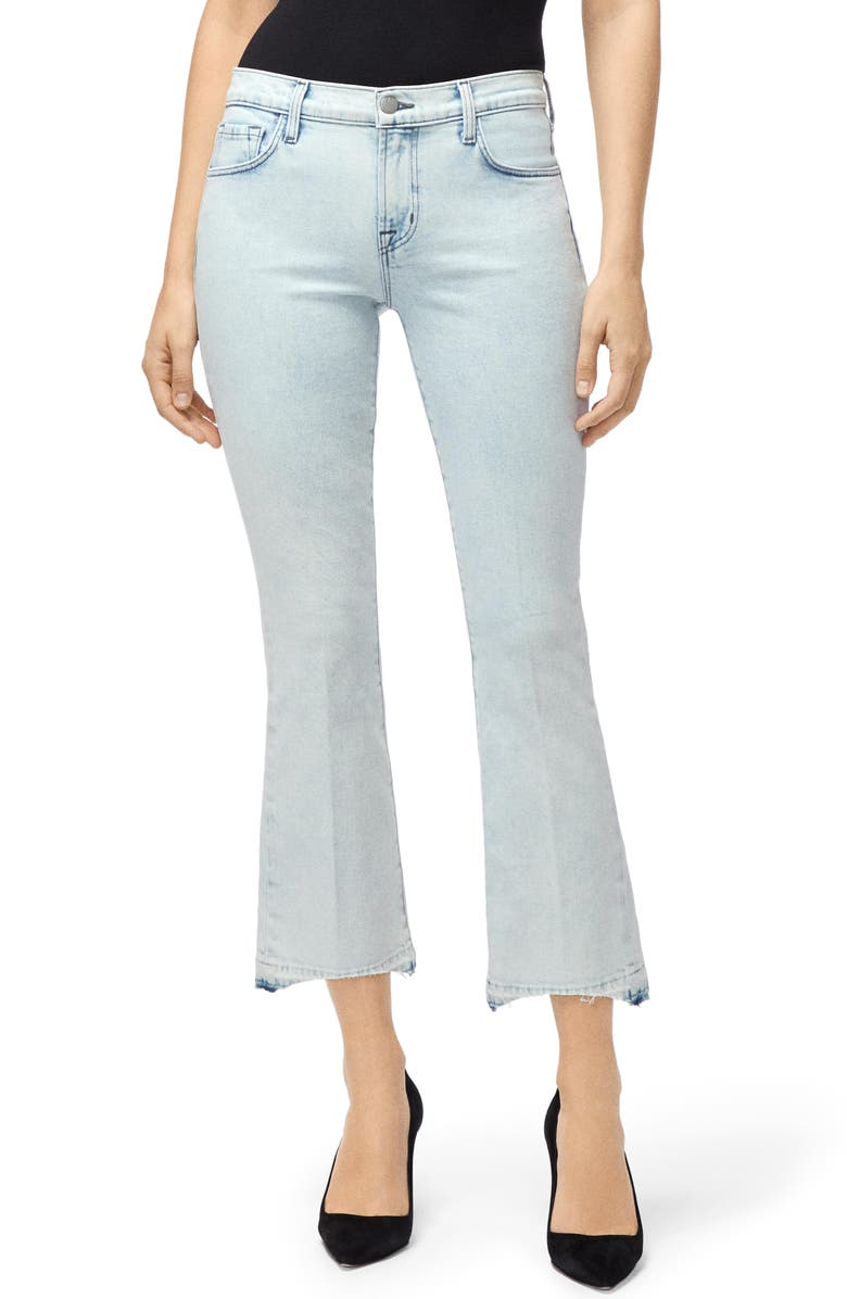 J BRAND Crop Bootcut Jeans, Main, color, OUTCAST