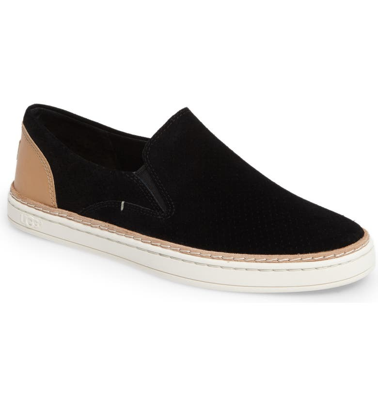 UGG<SUP>®</SUP> Adley Slip-On Sneaker, Main, color, 001