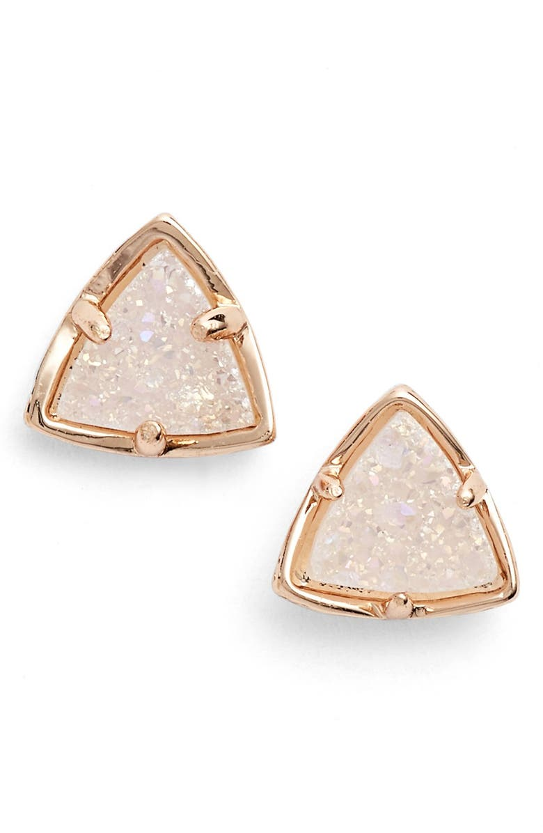 KENDRA SCOTT 'Parker' Drusy Stud Earrings, Main, color, 650