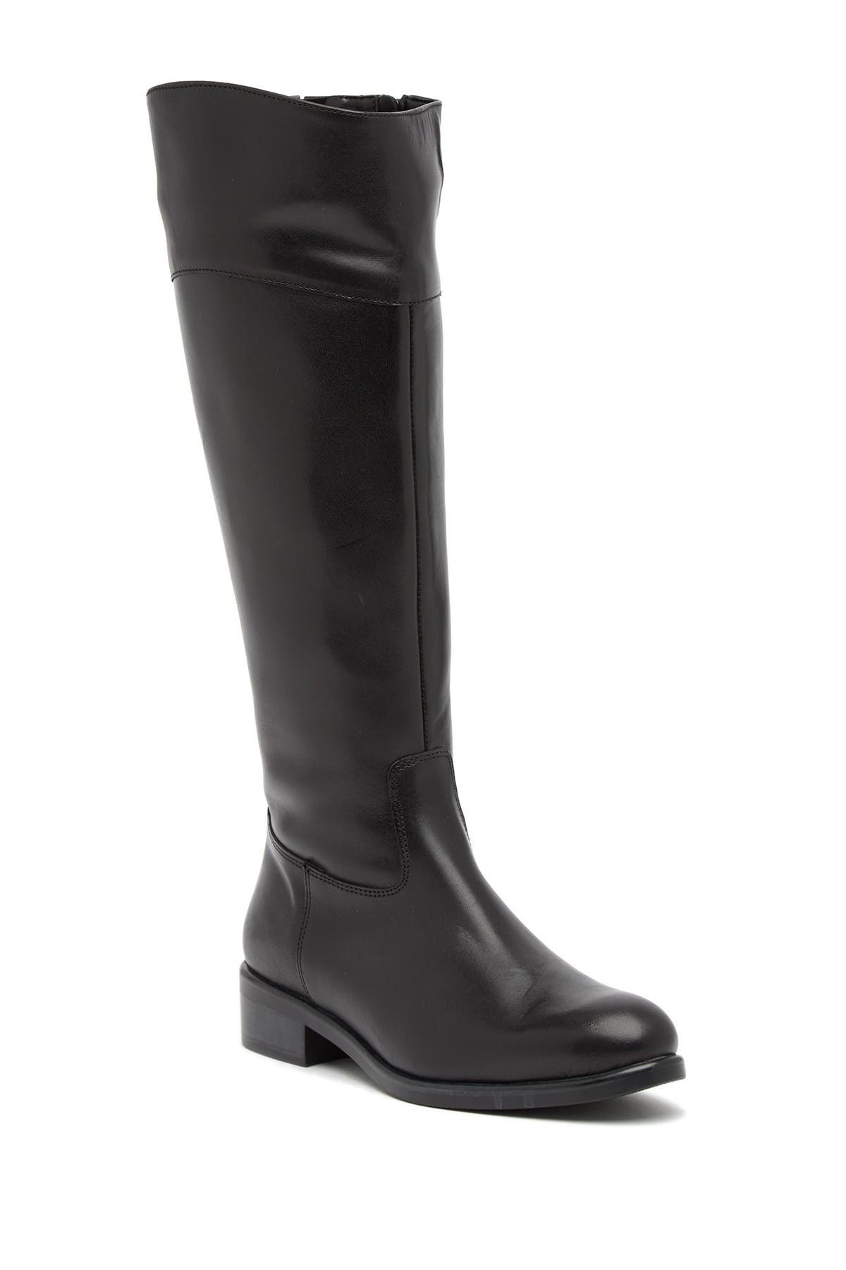 Image of Italian Shoemakers Angelica Leather Knee-High Boot
